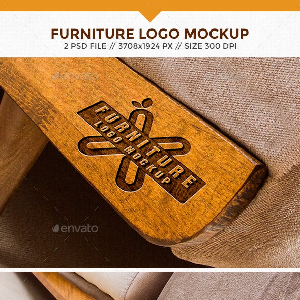 Furniture Logo Mockups