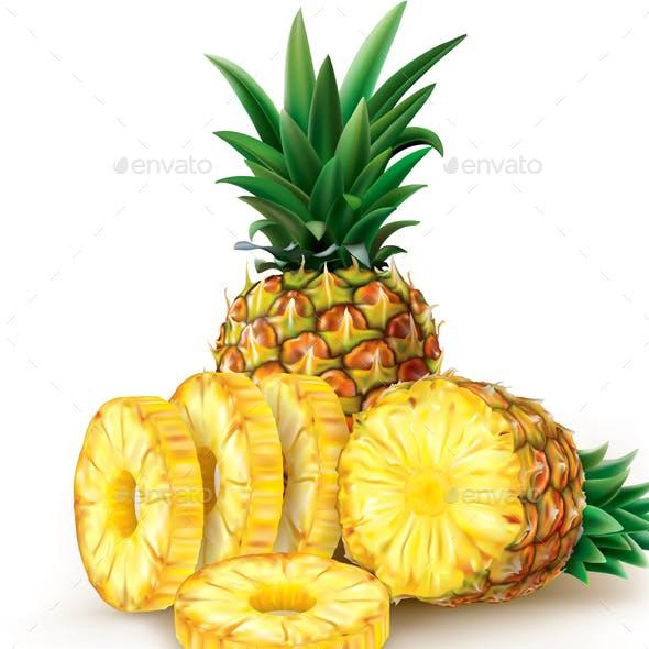 Pineapple Round Slices