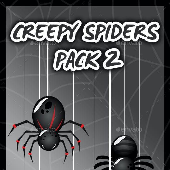 8 Super Creepy Spiders