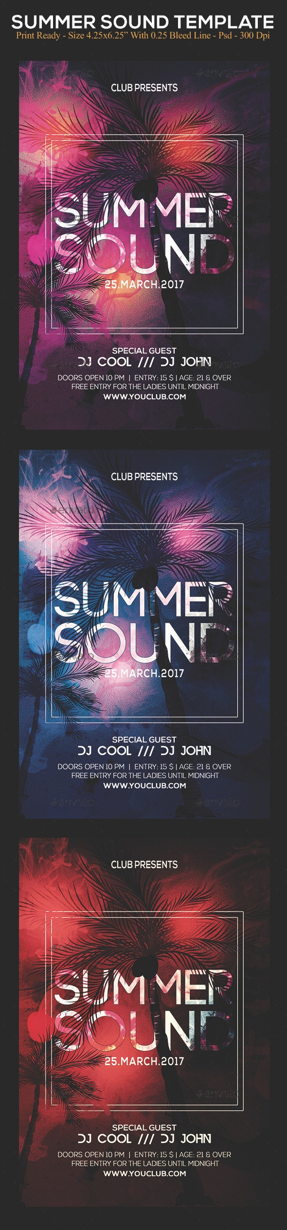 Summer Sound - Clubs & Parties Events