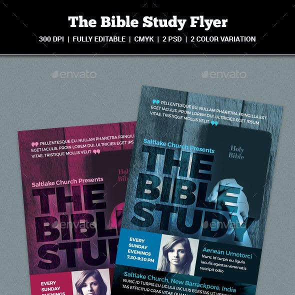 The Bible Study Flyer