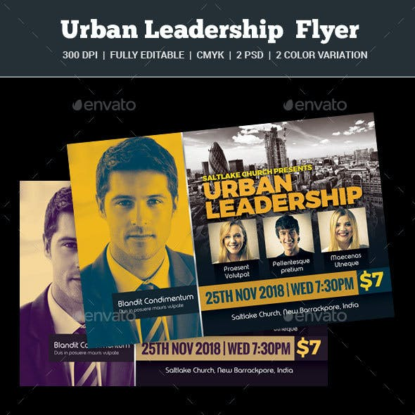 Urban Leadership Flyer