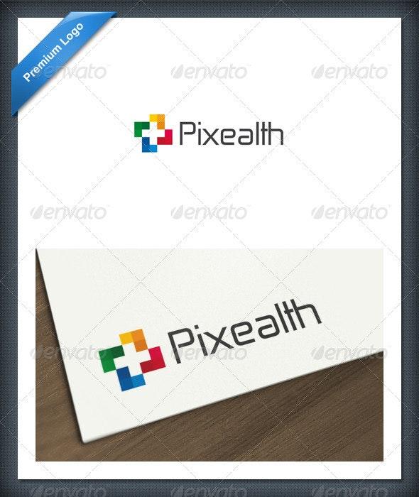 Pixel Health Logo template - Symbols Logo Templates