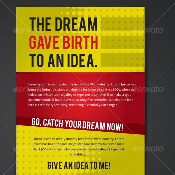 flyer ... design