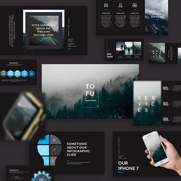 Tofu - Creative Keynote Template