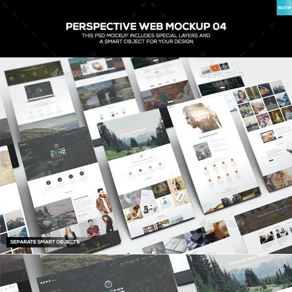 Perspective Web Mockup 04
