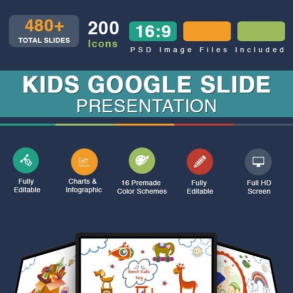 kids Google Slide Presentation Template