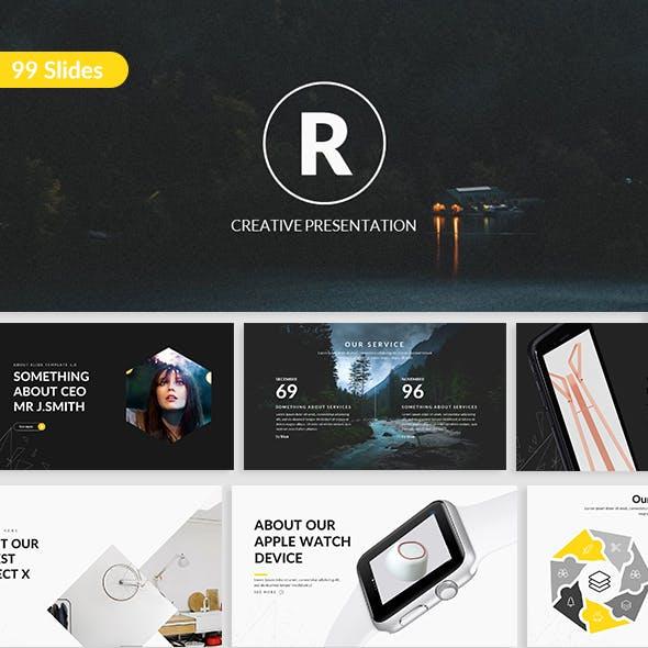 Regor - Creative Google Slide Template