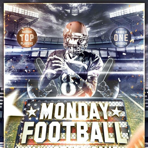 Monday Football Flyer Template
