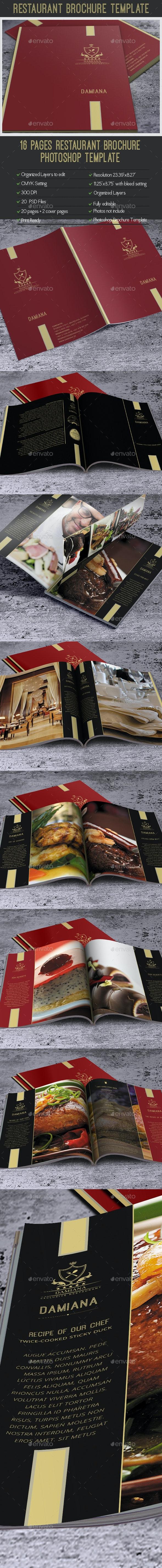 Multipurpose Creative Magazine Template - Brochures Print Templates