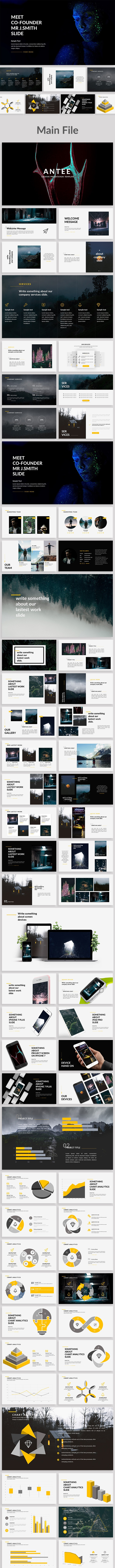Antee - Creative Powerpoint Template - Creative PowerPoint Templates