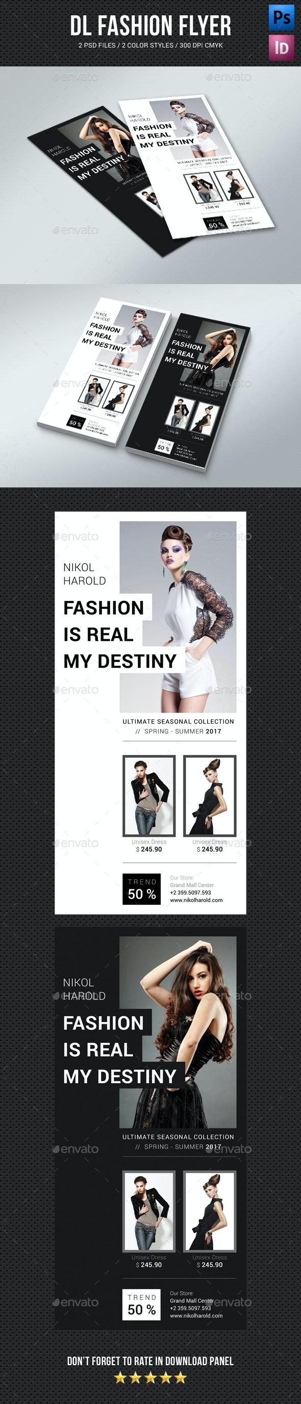 DL Fashion Flyer 02 - Commerce Flyers