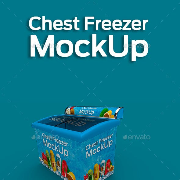 Chest Freezer Mock-up