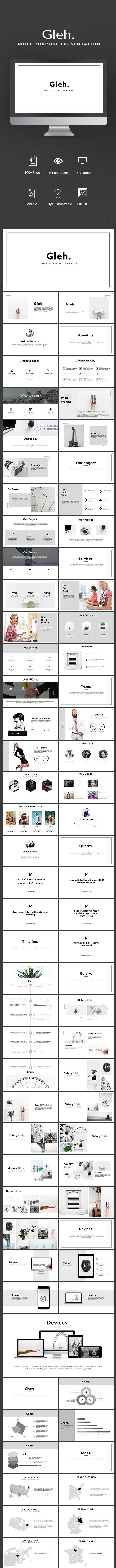Gleh Multipurpose Template - Keynote Templates Presentation Templates