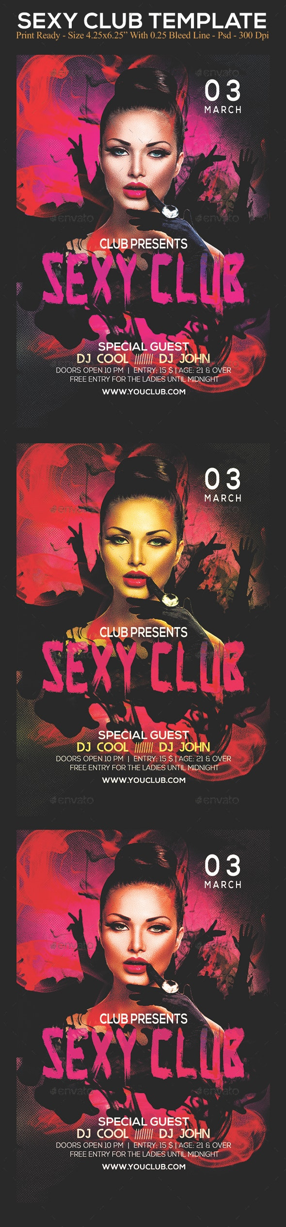 Sexy Club - Clubs & Parties Events