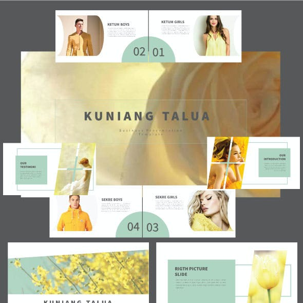 Kuniang Talua Powerpoint Template