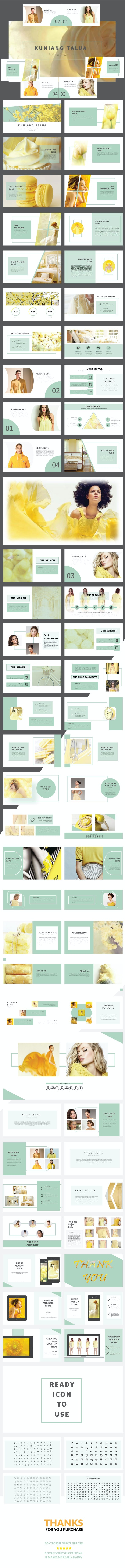 KUNIANG TALUA - Keynote template - Business Keynote Templates