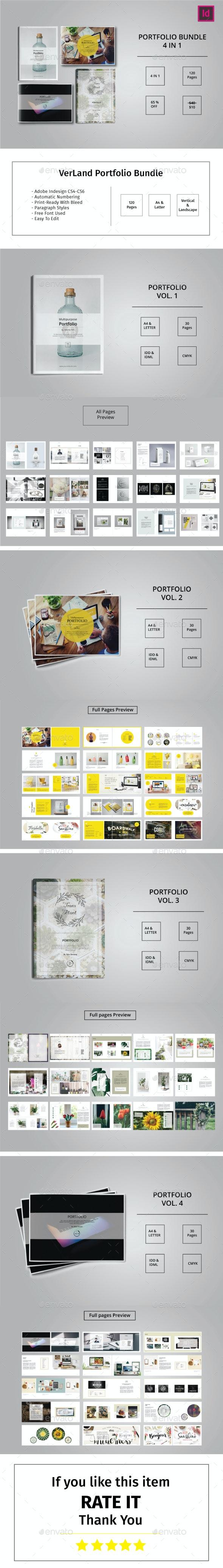 VerLand Portfolio bundle - Portfolio Brochures