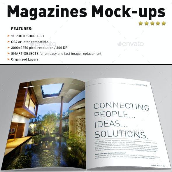 Magazines Mock-ups