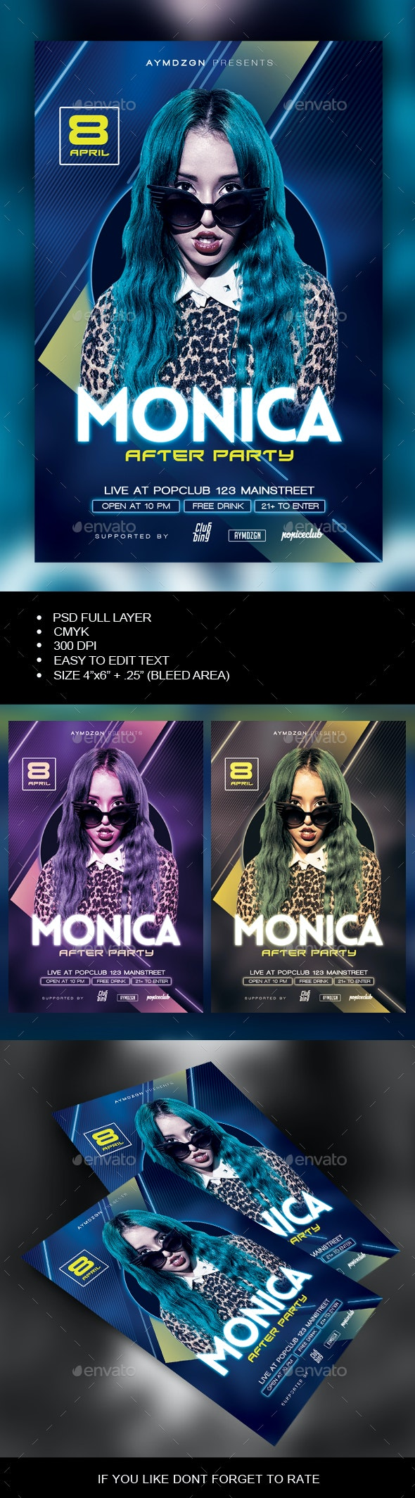 After Party Flyer - Clubs & Parties Events