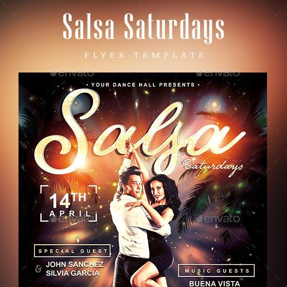 Salsa Saturdays Flyer