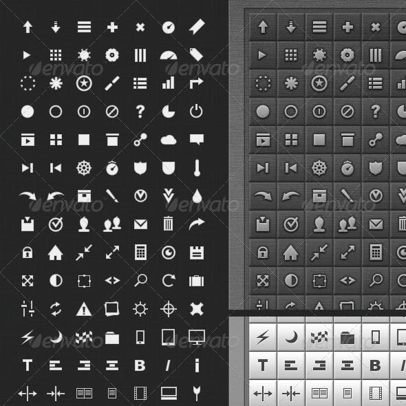 147 Touch Icon Pad icons