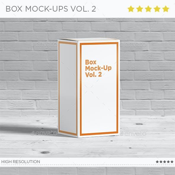 Box Mock-Ups vol. 2