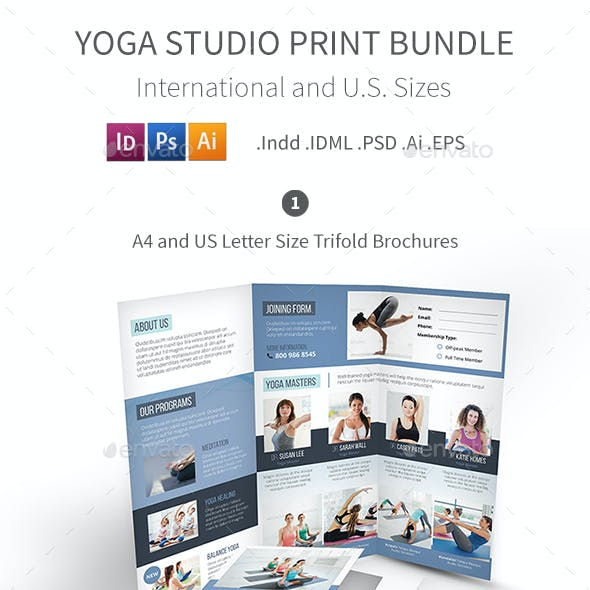 Yoga Studio Print Bundle