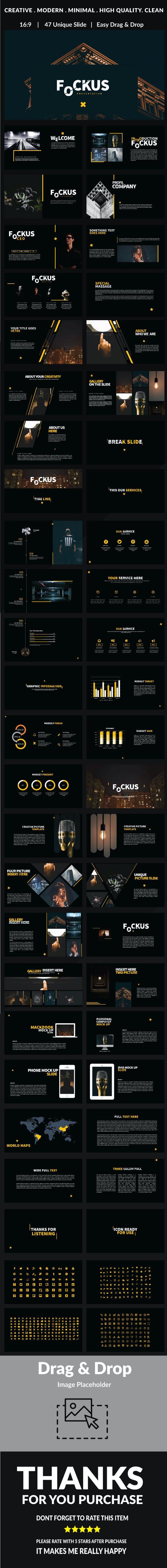 Fockus - Google Slide - Google Slides Presentation Templates