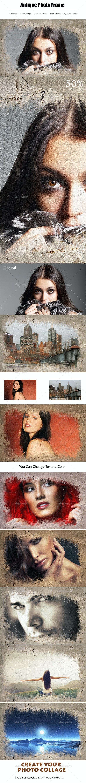 Photo Frame Antique - Photo Templates Graphics