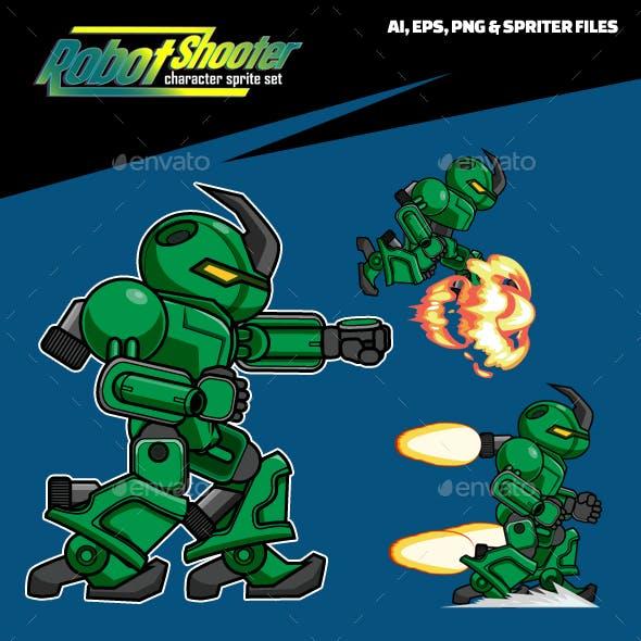 X Robot Shooter