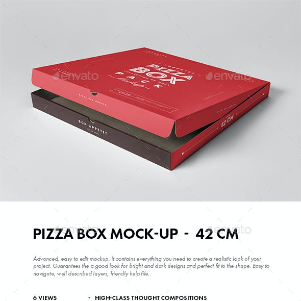 42 Pizza Box Mock