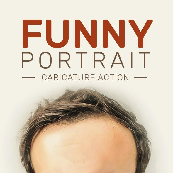 Funny Portrait Caricature Action