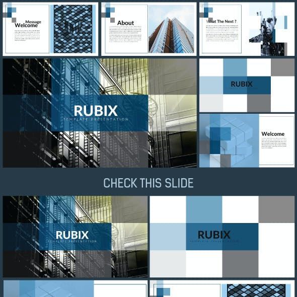 RUBIX Presentation Power Point Template