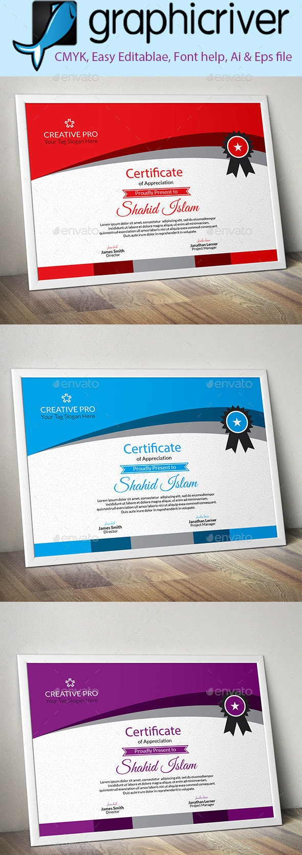 Creative Certificate-10 - Certificates Stationery