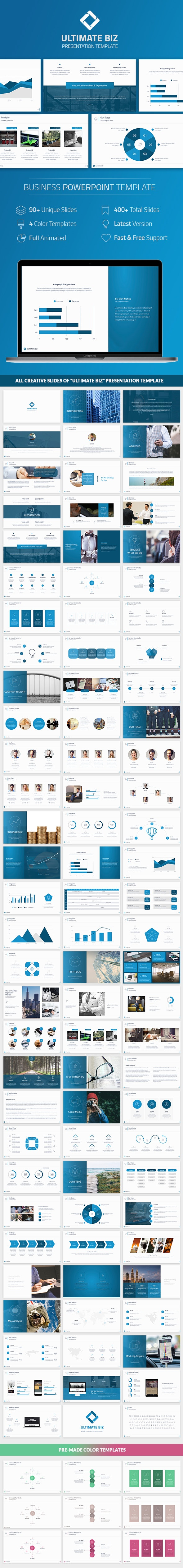 Biz Powerpoint Template - Business PowerPoint Templates