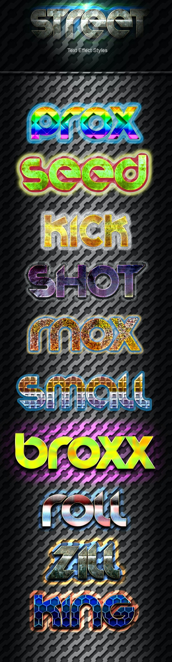 Street Text Effect v01 - Text Effects Styles