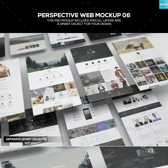 Perspective Web Mockup 06