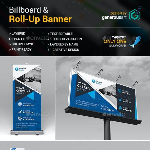 Billboard & Roll-Up Banner