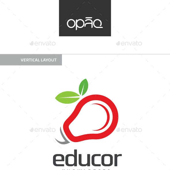 Apple Bulb Logo