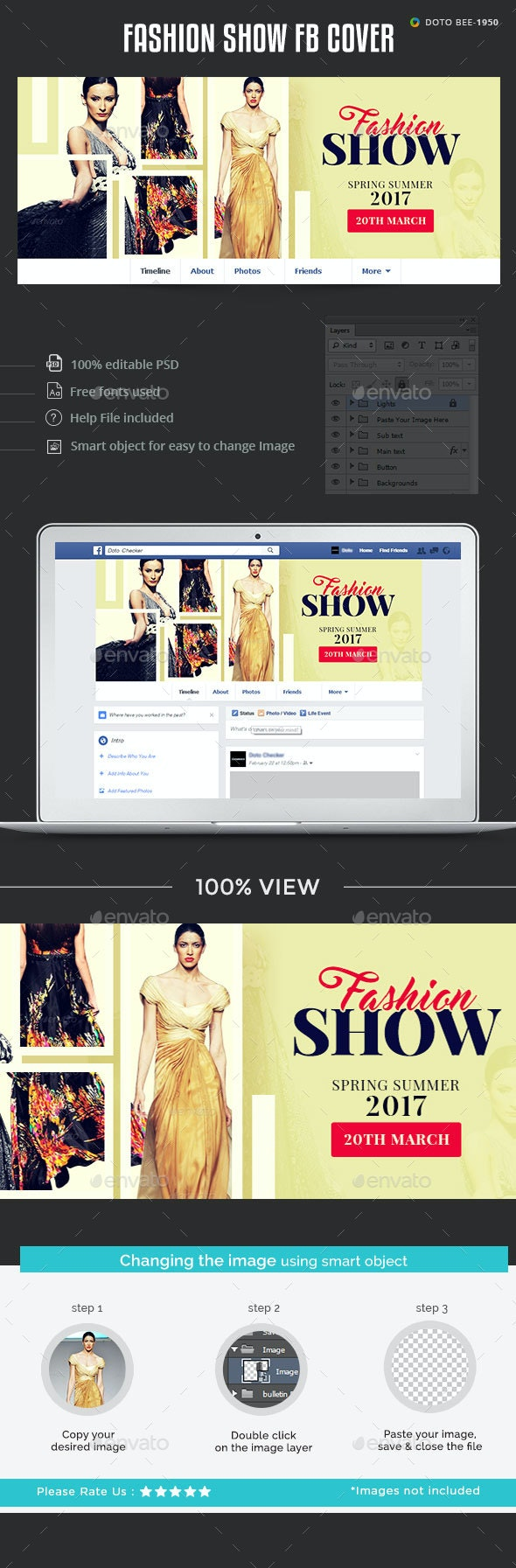Fashion Show Facebook Cover - Facebook Timeline Covers Social Media