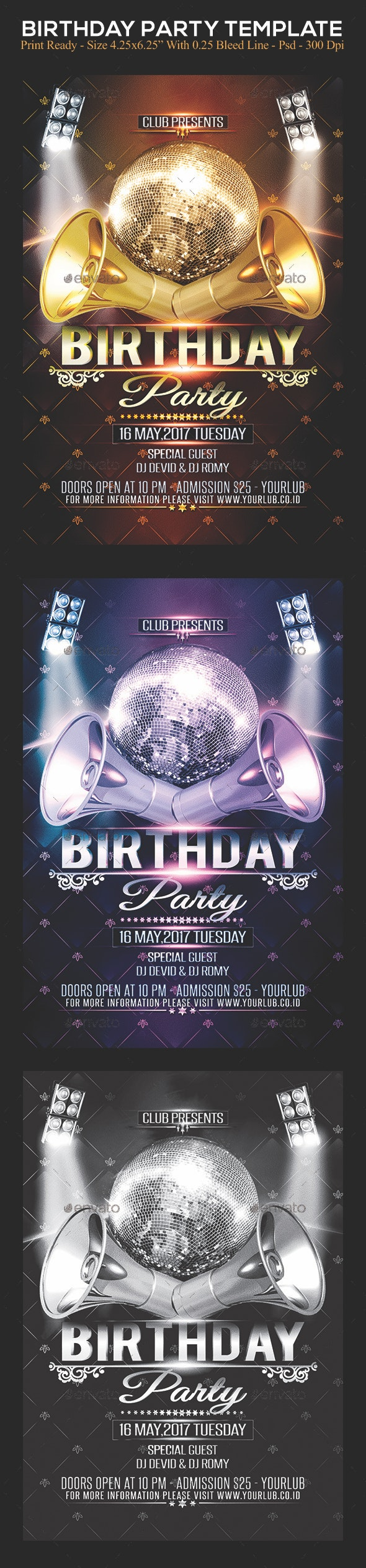 Birthday Party - Clubs & Parties Events