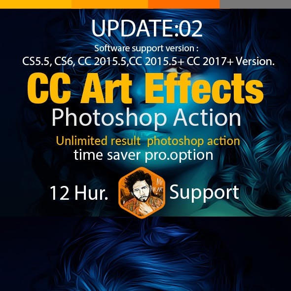 CC Art Effect Photoshop Action