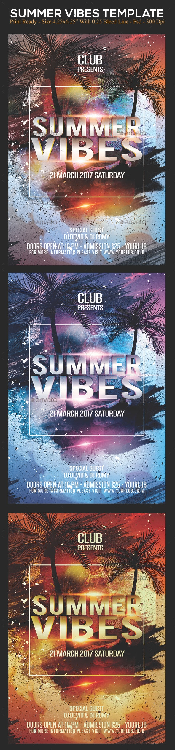 Summer Vibes - Clubs & Parties Events