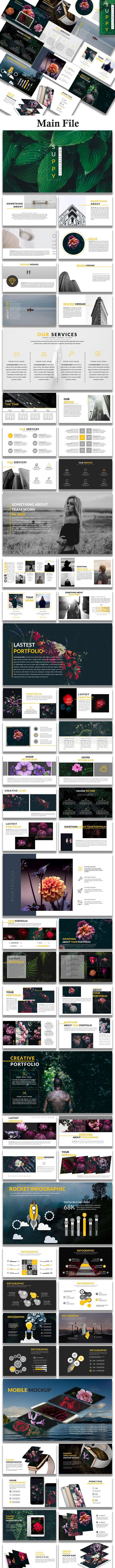Suppy - Creative Keynote Template - Creative Keynote Templates