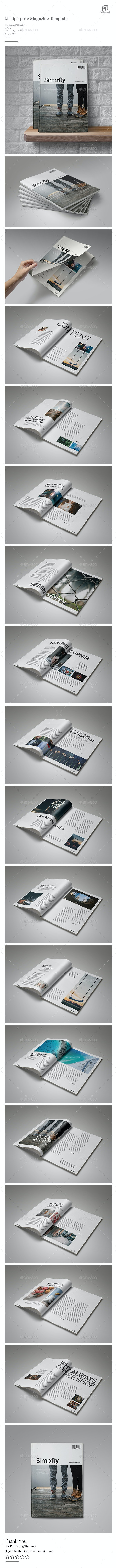 Clean & Simple Magazine Vol.5 - Magazines Print Templates