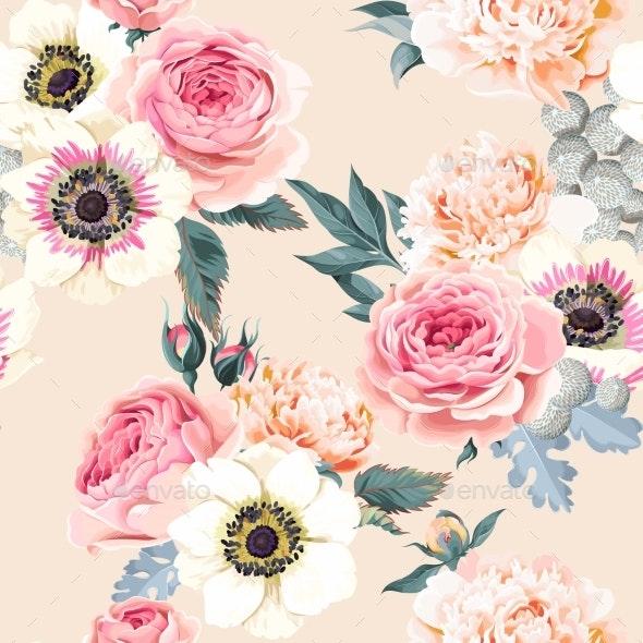 Seamless Wedding Flowers - Flowers & Plants Nature