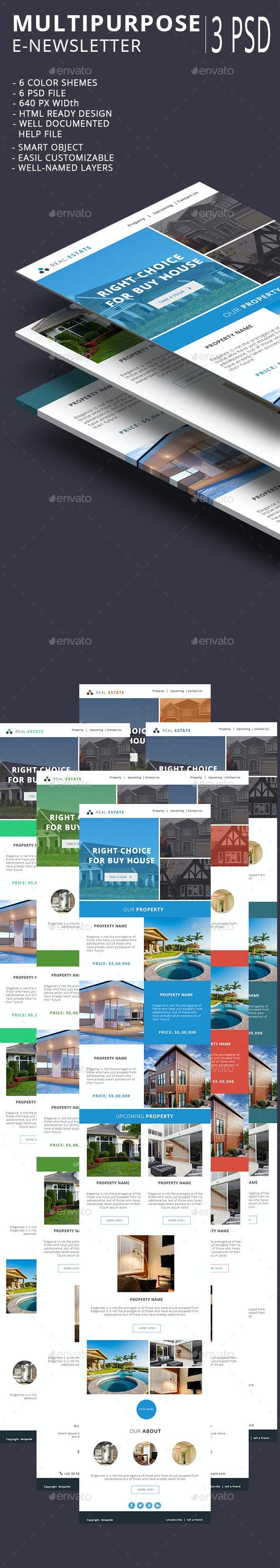 Real Estate E-newsletter - E-newsletters Web Elements