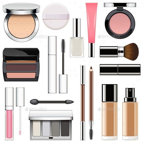 Makeup Icons Set 2