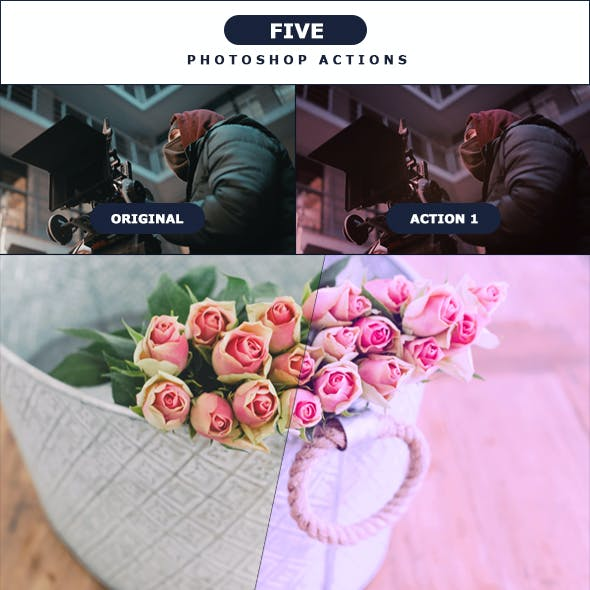 Five - Photoshop Actions 1